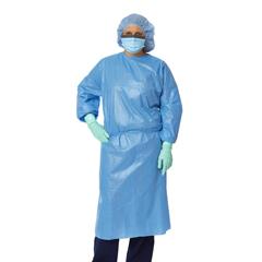 MEDNON27116XL - MedlineClosed Back Coated Propylene Isolation Gowns