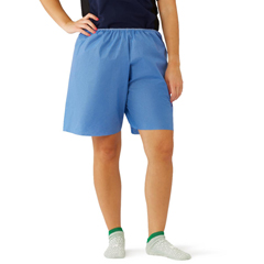 MEDNON27209L - MedlineDisposable Exam Shorts, Blue, Large, 30 EA/CS