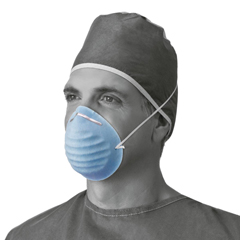 MEDNON27381 - MedlineSurgical Cone-Style Face Mask