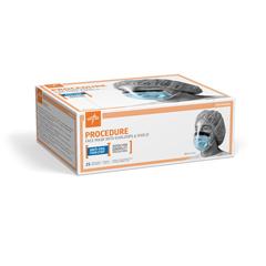 MEDNON27420EL - MedlineBasic Procedure Face Masks with Shield