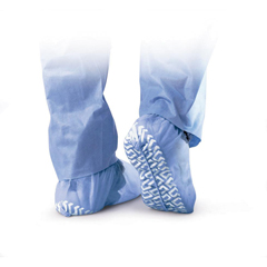 MEDNON28758 - MedlineNon-Skid Polypropylene Shoe Covers Regular/Large