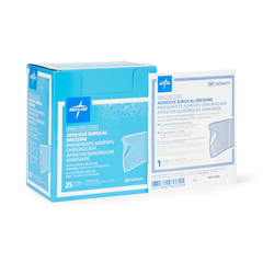 MEDNON4311 - MedlineDressing, Adhesive, Surgical, 4x6, (4x3 Pad)