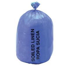 MEDNONHDB43 - Medline - Soiled Linen Liners, Blue, 31 x 43, 17 Microns