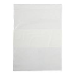MEDNONZIP810 - Medline - Bag, Zip, White Write On Block, 8x10, 2Mil