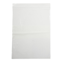 MEDNONZIP912 - Medline - Bag, Zip, White Write On Block, 9x12, 2Mil