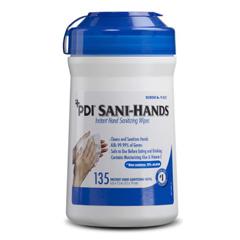 MEDNPKP13472 - Nice PakWipe, Sani Hands Alcohol Canister 135-Cn