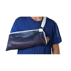 MEDORT11010 - Medline - Universal Arm Slings, Dark Blue, Universal, 1/EA