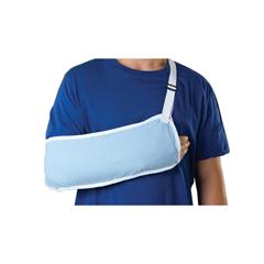 MEDORT11100L - Medline - Standard Arm Slings, Light Blue, Large, 1/EA