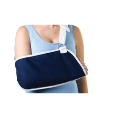 MEDORT11300S - Medline - Deep Pocket Arm Slings, Dark Blue, Small, 1/EA