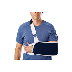MEDORT16200M - Medline - Sling-Style Shoulder Immobilizer with Neck Pad, Medium, 1/EA