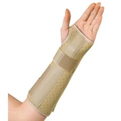MEDORT18100LL - Medline - Vinyl Wrist and Forearm Splints