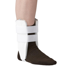 MEDORT27200 - Medline - Air and Foam Stirrup Ankle Splints, White, Universal, 1/EA