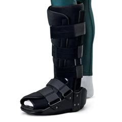 MEDORT28100M - Medline - Standard Short Leg Walkers, Black, Medium, 1/EA