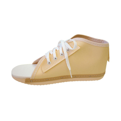 MEDORT30100WM - MedlineLace-Up Post-Op Shoes, Beige, Medium, 1/EA
