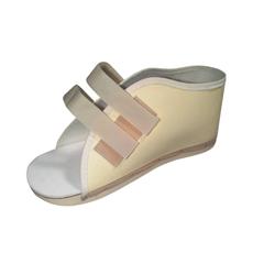 MEDORT30200ML - Medline - Hook and Loop Post-Op Shoes, Beige, Large, 1/EA