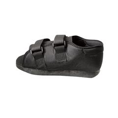 MEDORT30300MM - Medline - Semirigid Post-Op Shoes, Black, Medium, 1/EA