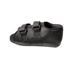MEDORT30300WM - Medline - Semirigid Post-Op Shoes, Black, Medium, 1/EA