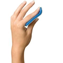 MEDORT32300L - Medline - Curved Finger Splint, 6, Size L, 12 EA/CS
