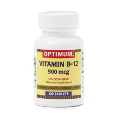 MEDOTC0035510 - MedlineGeneric OTC Vitamin B-12, Tabs, 500 Mcg, 100 Bt