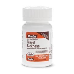 MEDOTC0039905 - MedlineGeneric OTC Meclizine, 25 Mg, 100 per Bottle, Chewable (Compare to Bonine)