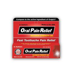 MEDOTC02303 - MedlineOTC Oral Pain Relief Adult, .33-Oz (Compare to Pain Relief Gel)