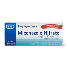 MEDOTC025237 - MedlineOTC Miconazole Nitrate 2% Cream: (Compare to Monostat 7) 45g tube with  applicator.