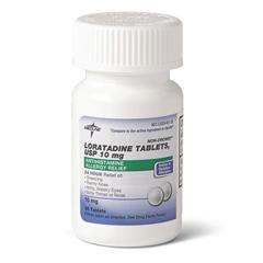 MEDOTC0263566 - MedlineLoratadine Tablets
