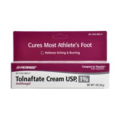 MEDOTC029231 - MedlineGeneric OTC Cream, Antifungal, 1% 1-Oz, Tolnaftate