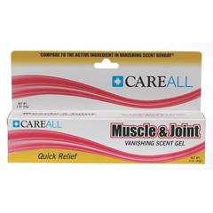 MEDOTC04286 - MedlineOTC Muscle Rub, 3 Oz, Vanish Scent Gel (Compare to Bengay)