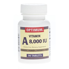 MEDOTC117690 - MedlineGeneric OTC Vitamin A, 8, 000 Indiv Units, Tablets, 90 per Bottle