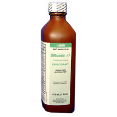 MEDOTC11780 - MedlineGeneric OTC Siltussin Syrup, Sf, Af, 16 Oz Bt (Tussin)