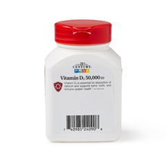 MEDOTC240908 - 21st Century - Vitamin D-3, 50,000UI, 30/BT
