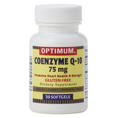 MEDOTC261594 - MedlineGeneric OTC Coenzyme Q10 Softgels, 75Mg, 30 per Bottle
