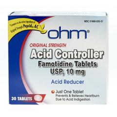 MEDOTC266217 - MedlineFamotidine Antacid Tablets