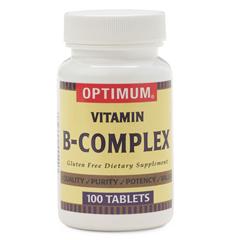 MEDOTC27601N - MedlineOTC Vitamin B, Complex, Tablets, 100 per Bottle