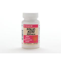 MEDOTC319760 - MedlineFolic Acid Tablets