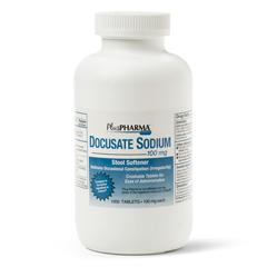 MEDOTC42110 - MedlineGeneric OTC Docusate Sod Tabs, 100 Mg, 1000 Bt (Colace)