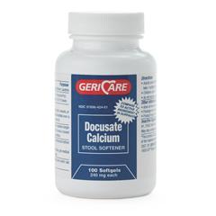 MEDOTC42401 - Medline - Docusate Calcium Stool Softner, 1/EA