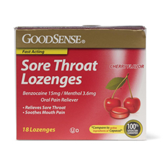 MEDOTC502198 - MedlineSore Throat Lozenges