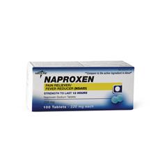 MEDOTC523059 - MedlineGeneric OTC Naproxen Sodium Tablets, 100 Bt (Aleve)