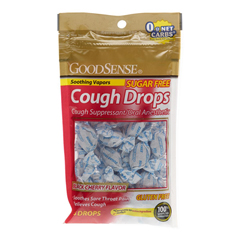 MEDOTC54225 - MedlineGeneric OTC Cough Drops, Sugar Free Blk Cherry, 25Pc, 1 Ea