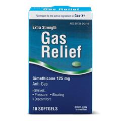 MEDOTC55010 - MedlineOTC Gas Relief, Es, 10 Box (Compare to Gas-X)