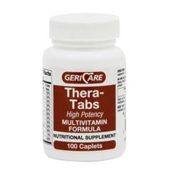 MEDOTC60101 - MedlineGeneric OTC Vitamin, Thera, 100 Bt (Theragran)