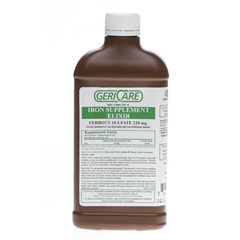 MEDOTC6020650 - MedlineGeneric OTC Ferrous Sulfate, Elixer, 16 Oz (Feosol)