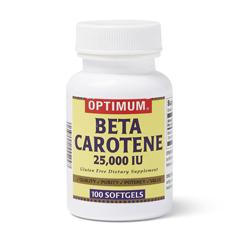 MEDOTC700028N - MedlineOTC Beta Carotene Softgels, 25,000 Indiv Units, 100 per Bottle