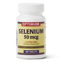 MEDOTC700108N - MedlineOTC Selenium Tablets, 50 MCG, 100 per Bottle