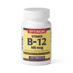 MEDOTC700433 - MedlineOTC Vitamin B-12, Tabs, 100 Mcg, 130 Bt