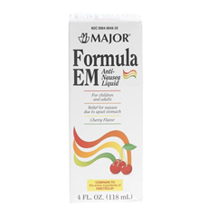 MEDOTC700798 - Medline - OTC Formula Em Anti-Nausea Liquid, 120mL (Compare to Emetrol)