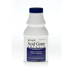 MEDOTC772714 - Major Pharmaceuticals - Acid Gone Antacid Liquid, 12 oz.