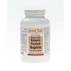 MEDOTC92110 - MedlineGeneric OTC Aspirin Tabs Ec, 1000 Bt, 325Mg (Ecotrin)